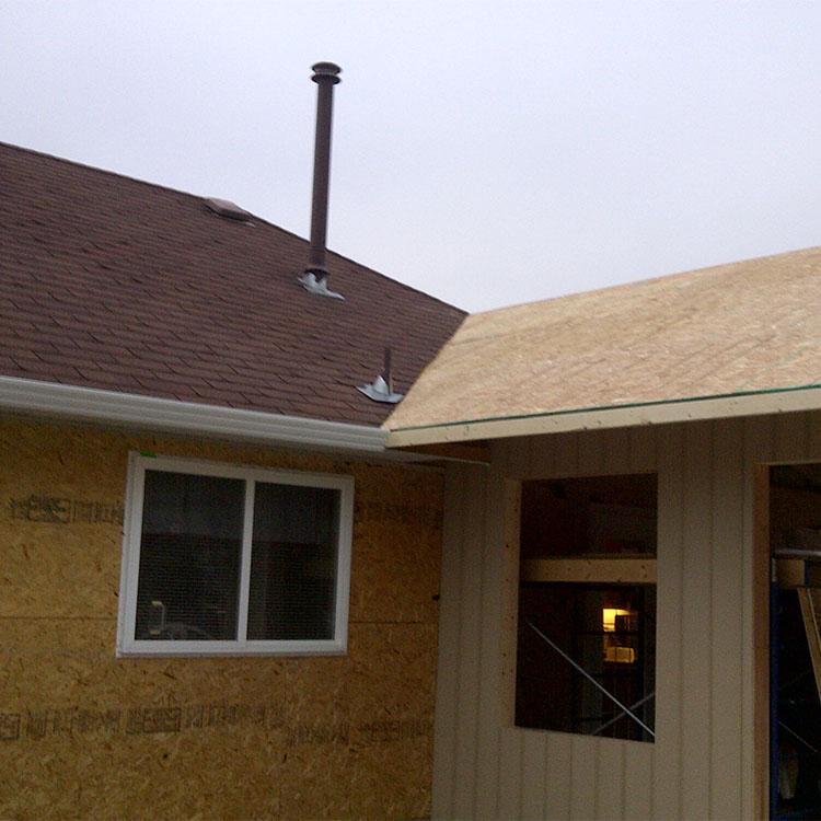 House Siding Construction
